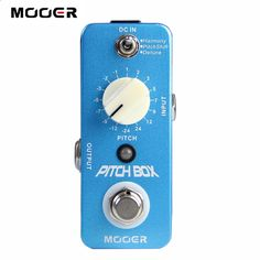 Guitar Pedals - (59.25$) Watch here - Free shipping!NEW Effect Guitar Pedal /MOOER Compact Pedals Pitch Box Pitch Pedal,Harmony/Pitch shifting pedal