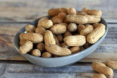How To Roast Peanuts in the Shell or Shelled