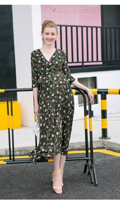 235fa6021fd79 itonia new breastfeeding maternity clothes women pregnancy long dress