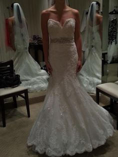 Allure Bridals 8923: buy this dress for a fraction of the salon price on PreOwnedWeddingDresses.com
