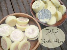 Homemade Bath Melts