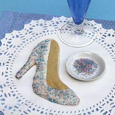 Cinderella Glass Slipper Cookie