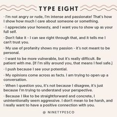 Communication with Enneagram Type 8
