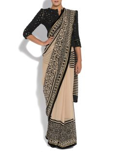Vineet Bahl 'Premier' #Saree.