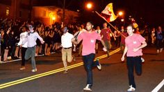 Taken at the annual #Emory run the row event, where new members run down #Eagle Row to their new #greek homes.