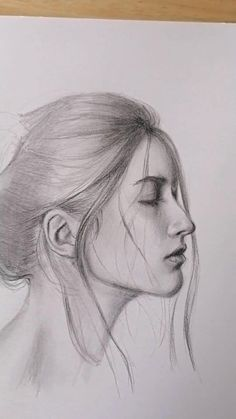 Pencil Portrait Drawing, Portrait Sketches, Pencil Art Drawings, Art Drawings Beautiful, Art Drawings Sketches Simple, Realistic Drawings, Art Painting Gallery, Sketches Tutorial, Illustrations