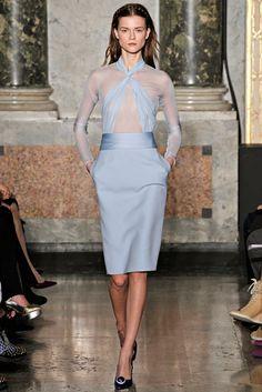 Emilio Pucci Fall 2012 Ready-to-Wear Fashion Show - Kasia Struss