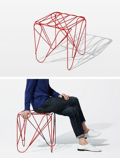 ippon stool by Shinn Asano