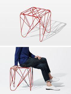 ippon stool by Shinn Asano