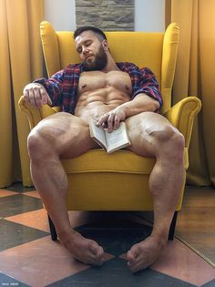 37 Photos of Naked Muscle Men You Can Touch by Nick Mesh