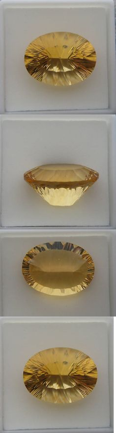 Citrine 10205: 17.08 Ct. Natural Citrine Oval Concave Cut -> BUY IT NOW ONLY: $149 on eBay!