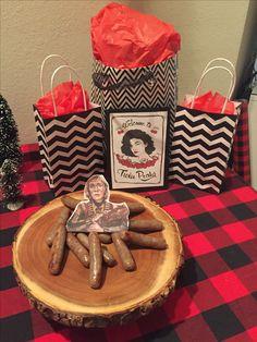 Twin Peaks theme party #TwinPeaks