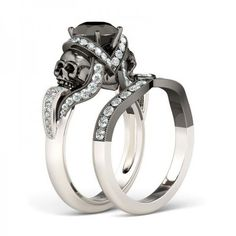 Punk Ring Drachen Muster Strass Ring Imitation Diamant Legierung Ringe KUS