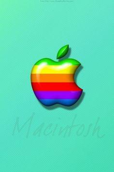 Apple logo stripes Wallpaper Apple Computers (67 Wallpapers) – Wallpapers 4k