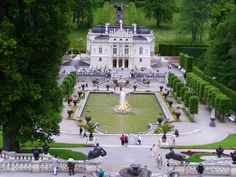 Schloß Linderhof - Germany- Such wonderful memories of taking my parents to  visit to this castle...