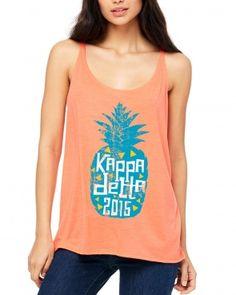 Kappa Delta Pineapple Tank