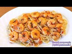 Γαριδομακαρονάδα του Λευτέρη Λαζάρου - YouTube Shrimp, Meat, Youtube, Food, Essen, Meals, Youtubers, Yemek, Youtube Movies