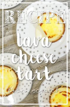 Lava Cheese Tarts - How to make them at home!