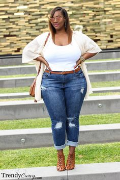 trendycurvy:   California Cool Outfit details on...   Chubby & Bonitas.