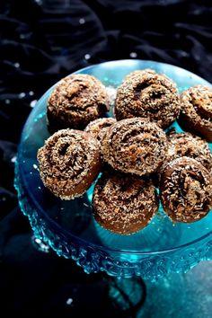 Kókuszos-fahéjas csiga recept