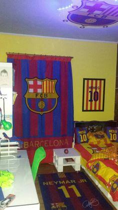 Barcelona fc room memos