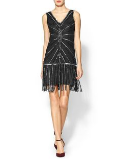 The perfect Gatsby party dress: Stroke of Midnight Sequin Mini