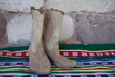 141dcbb4c56 Get you Giddy Up On Vintage Suede Leather Men s by TheShingledBarn Piel De  Ante