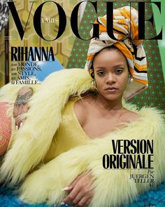 "214 Likes, 1 Comments - BellaNaijaStyle (@bellanaijastyle) on Instagram: ""We're giddy with excitement #Rihanna is @VogueParis #GuestEditor for its December issue! 3…"""