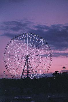 {carnivals & cotton candy} pink, purple and blue #splendidsummer