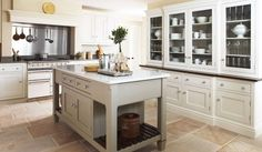 Love the cabinetry that looks like a piece of furniture