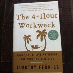 Four Hour Work Week by Tim Ferriss   Classic!