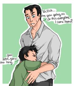 #wattpad #fanfiction One night in the streets changed everything for Dick Grayson. He had just moved in with Bruce Wayne after he had seen his parents fall to their deaths. Living with a billionaire didn't seem so bad at first, but Dick was far from happy. The Bruce was never around when Dick needed a parental figure a...