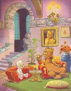 Everything Vintage - Marten Toonder's Tom Puss Best Children Books, Childrens Books, Children's Book Illustration, Book Illustrations, Magazines For Kids, Old Paper, Various Artists, Paper Dolls, Olie