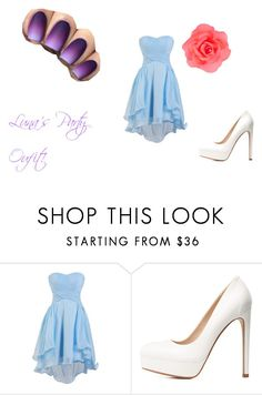 """""""Luna's Party oufit (That's coming soon in the story)"""" by millenrocks on Polyvore featuring Charlotte Russe, Accessorize, Quotev, luna, Genie and aphmau"""