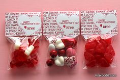Free Printable Valentine Bag Toppers