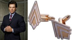 Battlestar Galactica cufflinks are the perfect addition to your workplace wardrobe