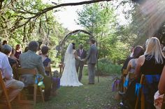 Geeky, Rustic, Summer Camp Wedding | Bridal Musings | A Chic and Unique Wedding Blog - Photos by Whitney Martin, Consulting by Wedding Warriors.
