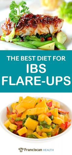 What is the best diet for irritable bowel syndrome? For many people with IBS symptoms, the low FODMAP diet may offer the best relief. Learn more about the foundational foods that found the core of this diet plan for people coping with IBS flare-ups. Ibs Recipes Dinner, Diet Recipes, Healthy Recipes, Recipes For Ibs, Healthy Meals, Diet Tips, Healthy Food, Snack Recipes, Good Foods For Ibs