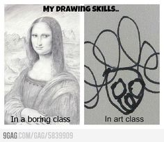 As a drawing major, it's pretty tragic when this happens to me.