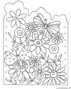 Desenhos para preparar o painel da Primavera | Português Língua