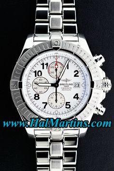 #Breitling Aeromarine Super Avenger A1337011-A699-135A, $3,400.00. #breitlingwatches  #menswatches