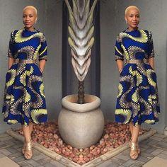 Ankara Creative Gown Design ~African fashion, Ankara, kitenge, African women dresses, African prints, Braids, Nigerian wedding, Ghanaian fashion, African wedding ~DKK