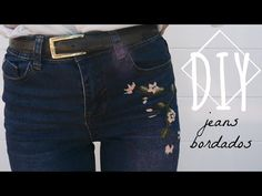 Conservá y usá esta prenda tan versátil por mucho más tiempo, reparándola y customizándola de acuerdo a tu propio estilo y personalidad. Zara, Youtube, Denim Shorts, Amanda, How To Make, Pants, Lily, Embroidery, Outfits