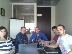 Nuestro equipo especializado en #marketingonline en la ofi de #zaragoza