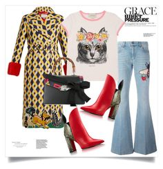 """""""Cat"""" by ildiko-olsa ❤ liked on Polyvore featuring Gucci"""