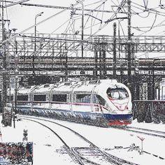 Train Sapsan (Ice)