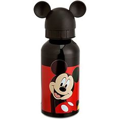 Aluminum Mickey Mouse Water Bottle -- Small