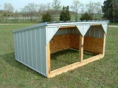 I'd like to build one of these in each paddock. For the goats though I would close one of the arches.