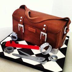 Plumber's tool case Cake