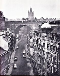 Newcastle in the 1950's